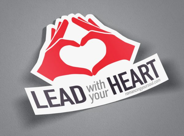Sticker - Lead With Your Heart