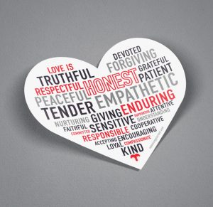 Sticker - Love Is....