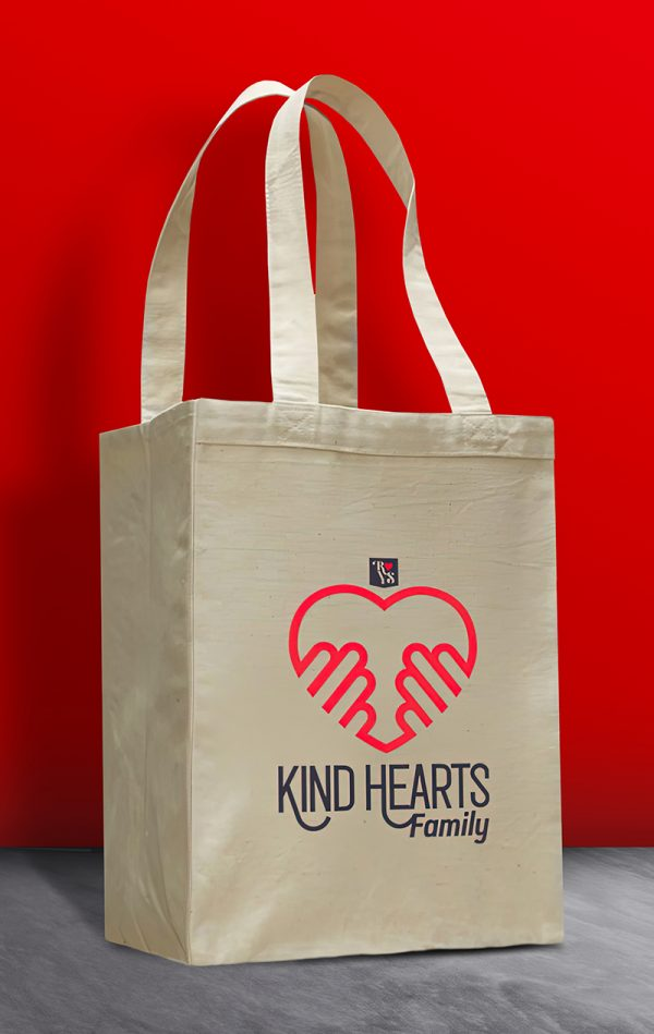 Kind Hearts Family Tote